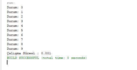 Java ile gecen sure hesaplaması